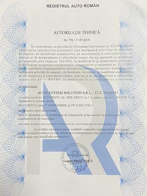 Autorizatie-AutoSystem