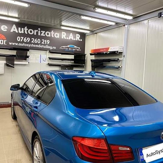 Auto System Atelier Montaj profesional Folie Auto geamuri laterale si luneta autorizata rar llumar sector 5 bucuresti