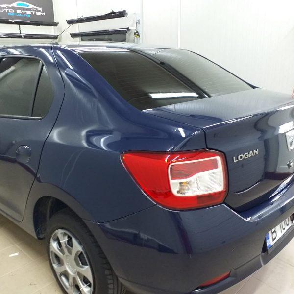 Folie Auto autorizata rar sector 5 logan albastru